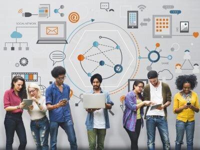 Global,Communication,Digital,Device,Information,Concept